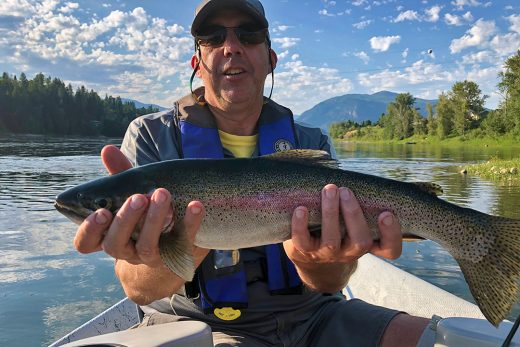 Chillbilly Charters Rainbow Trout - 2