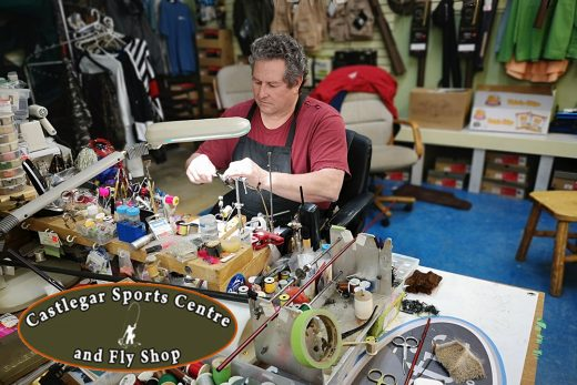 Castlegar Sports Centre and Fly Shop Fly Tying