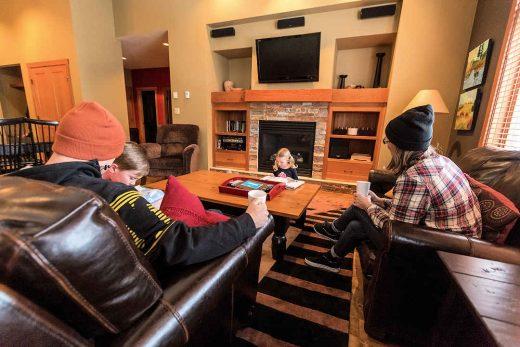 Red Mountain Resort Living Room