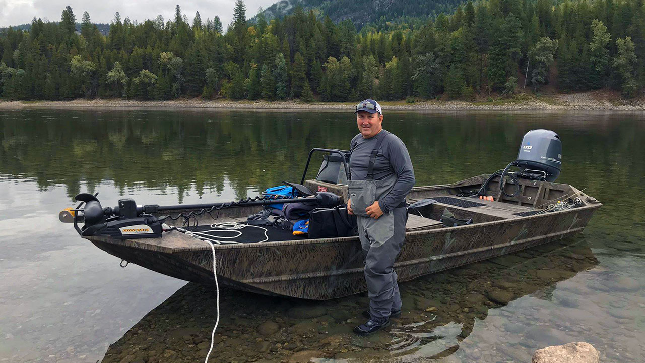 Columbia River Rainbows - Matt Guiget Boat