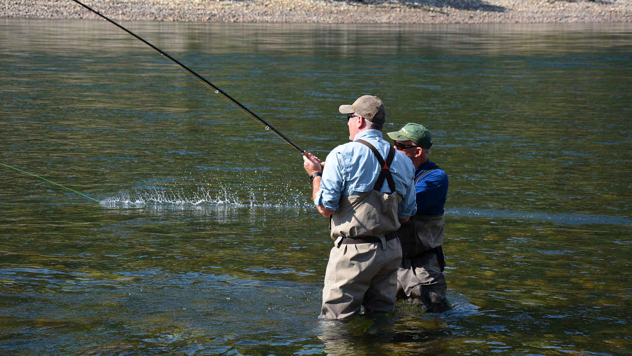 Columbia River Flyfishing Spey Casting