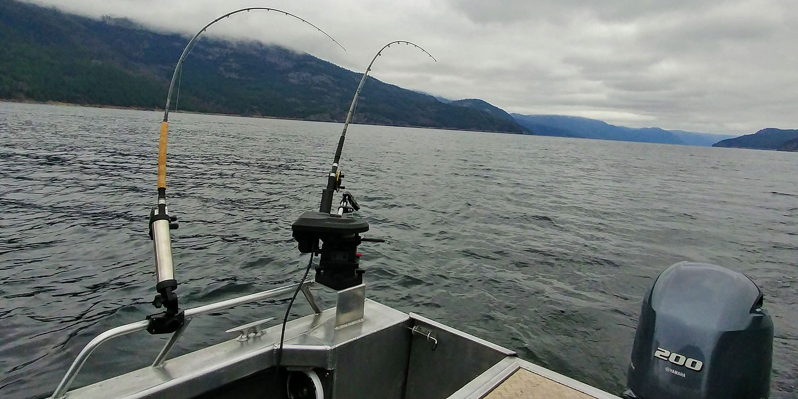 Main Columbia River Boat Trolling