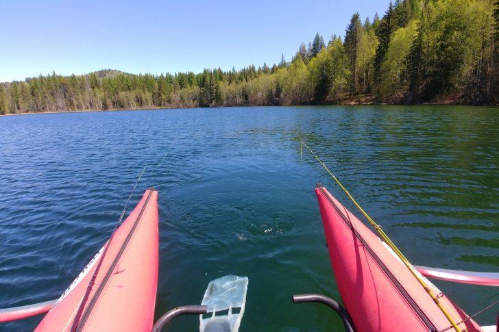 Rosebud Lake Fishing